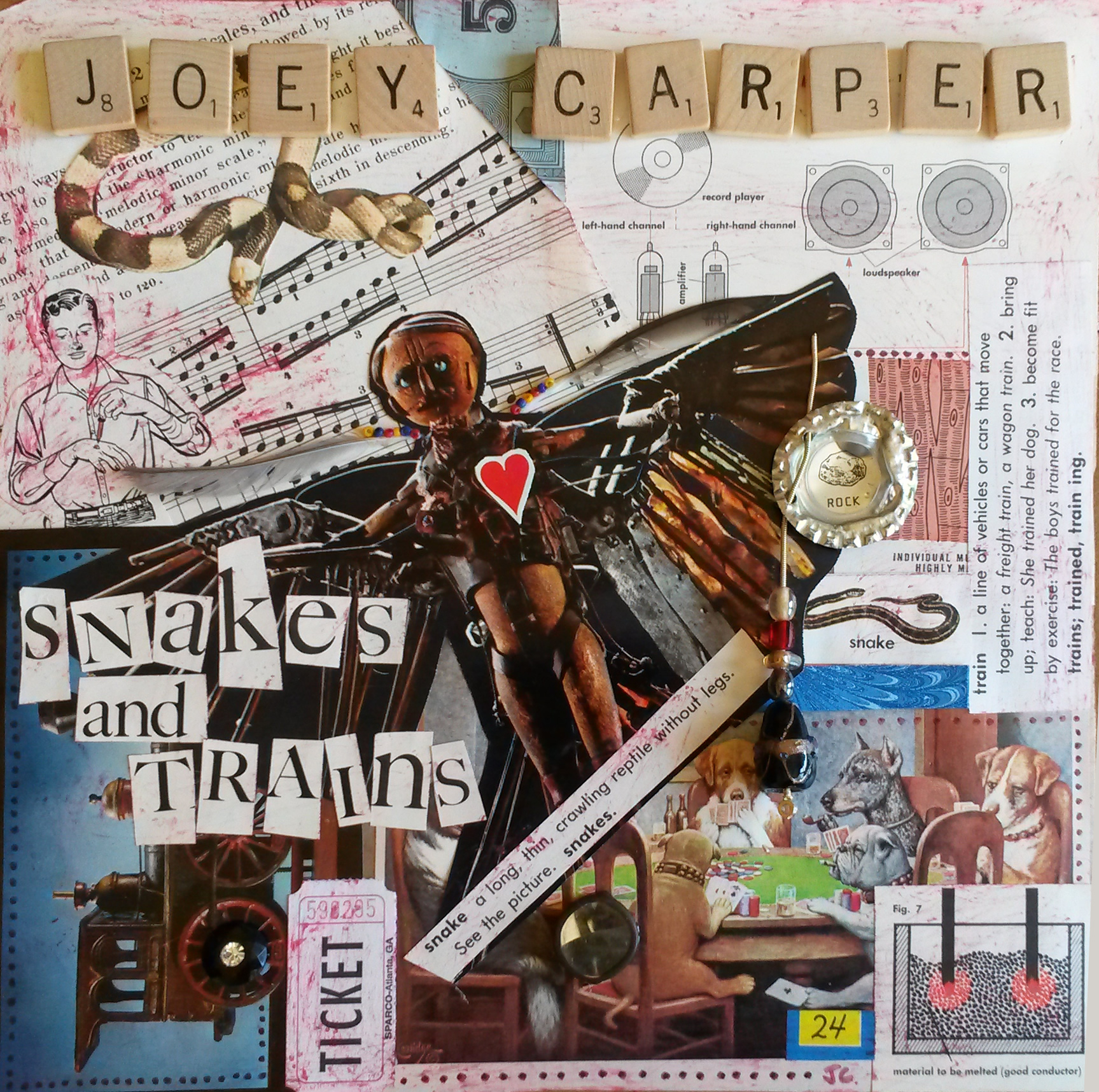 Snakes and Trains - new EP by Joey Carper